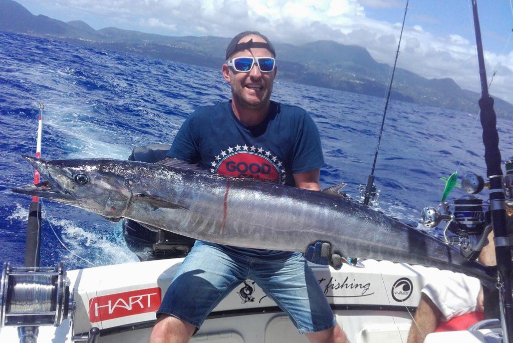Wahoo pêche en Guadeloupe