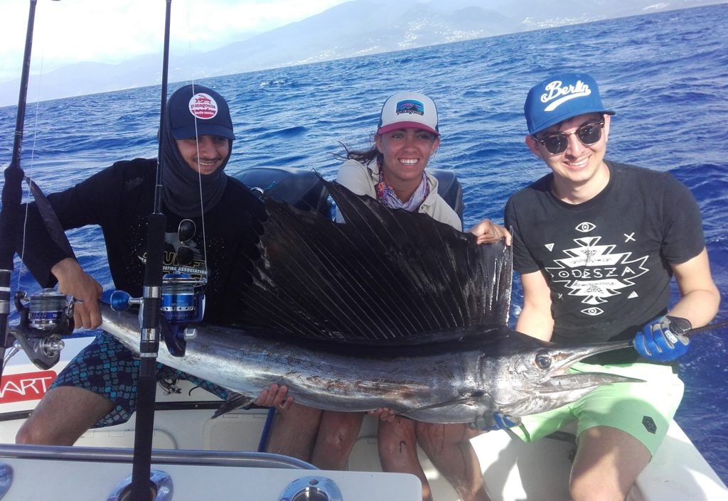 Pêche du Sailfish en Guadeloupe