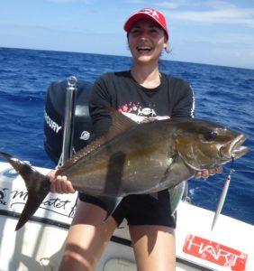 Pêche de la Sériole en Guadeloupe