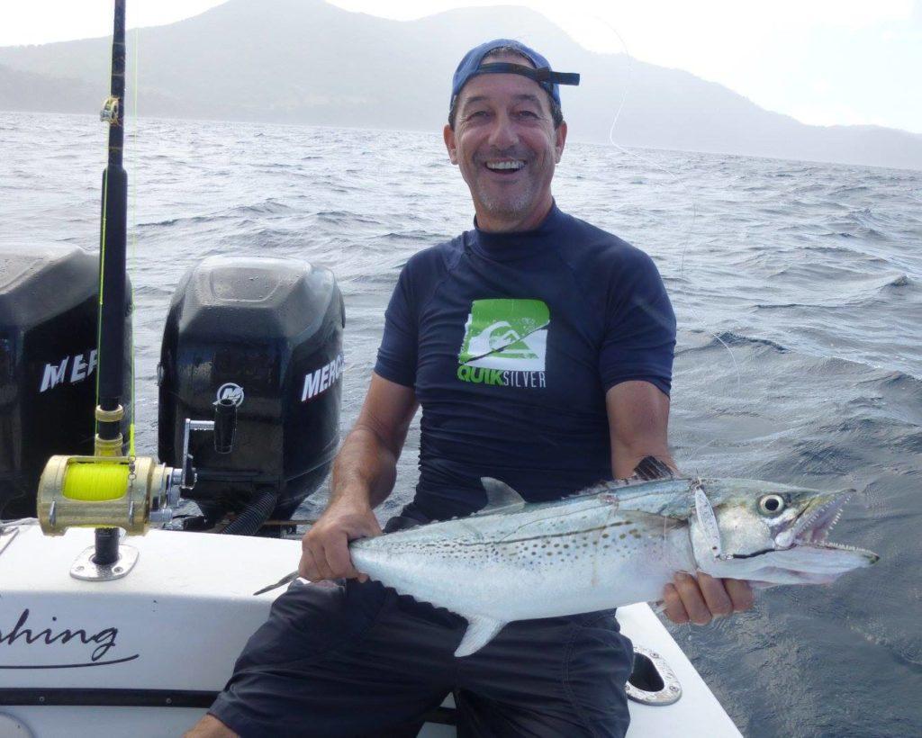 Pêche du Thazard cero en Guadeloupe
