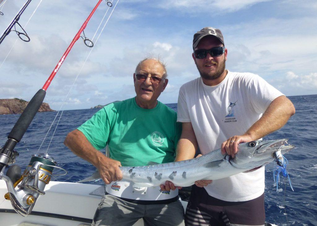 Pêche du Barracuda en Guadeloupe