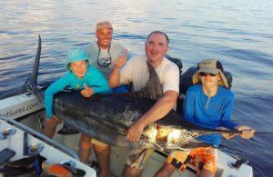Marlin bleu Pêche en Guadeloupe