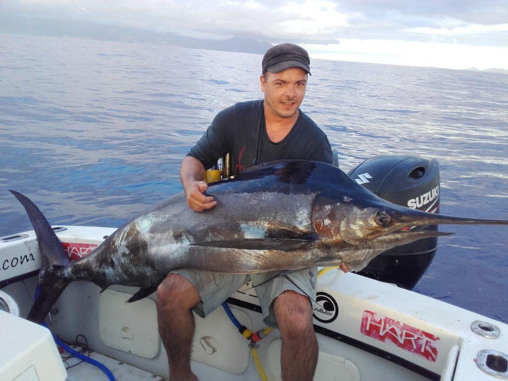 Pêche du Marlin bleu en Guadeloupe