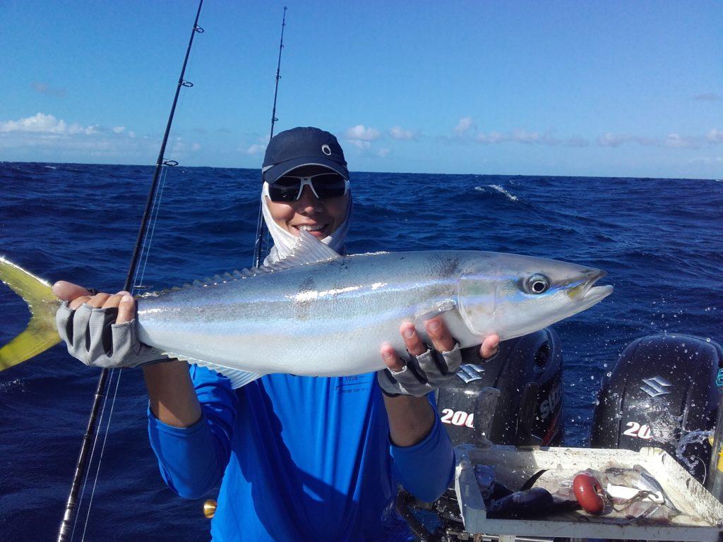 Pêche du Colas batard en Guadeloupe
