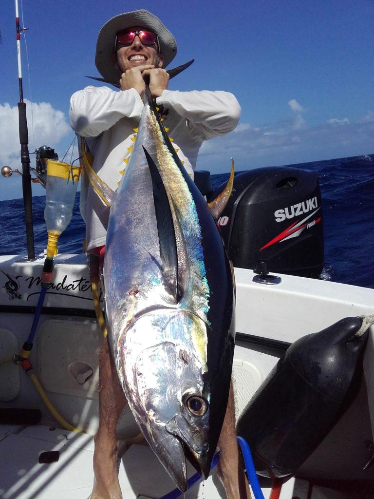 Thon jaune Pêche en Guadeloupe