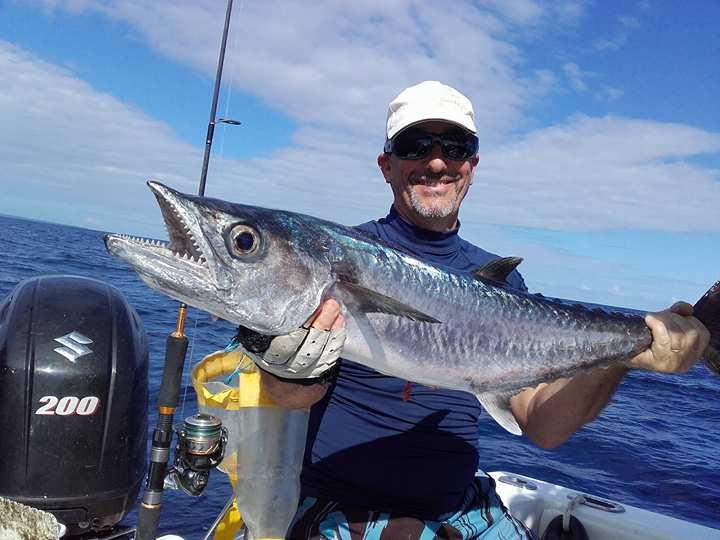 Pêche du Thazard blanc en Guadeloupe