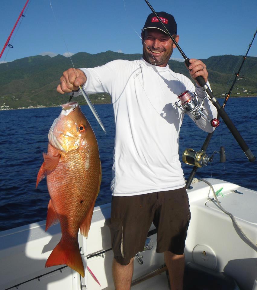 Pagre rose Pêche en Guadeloupe