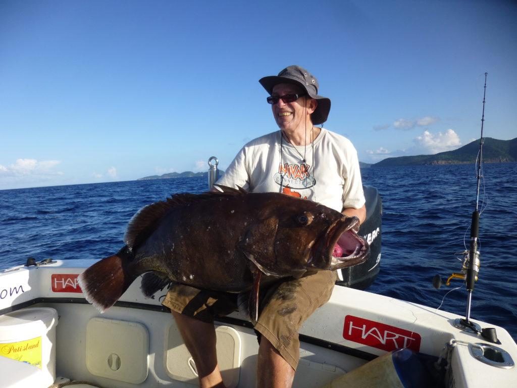 Pêche du Mérou en Guadeloupe