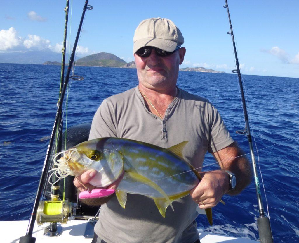 Pêche de la Carangue en Guadeloupe