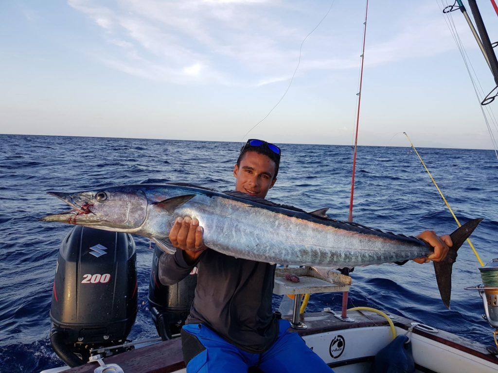 Pêche du Wahoo en Guadeloupe